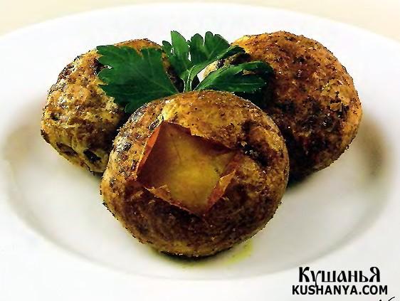 Фото Печеный картофель (в микроволновке)
