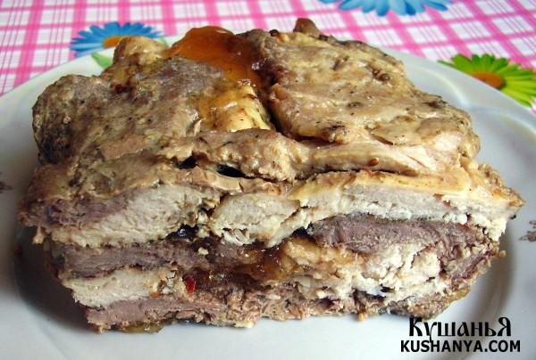 Фото Прессованное мясо