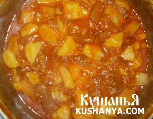 Овощное рагу с баклажанами фото