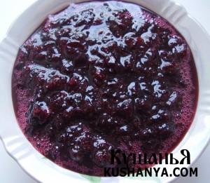 Варенье из черной смородины (свежей) фото