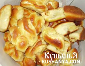 Пирожки с творогом и сушеными абрикосами фото