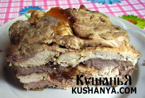 Прессованное мясо фото