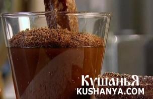 Фото Чурос с шоколадным соусом