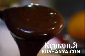Чурос с шоколадным соусом