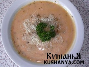 Томатный суп-пюре фото