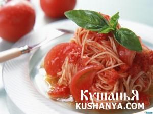 Спагетти по Винницки фото