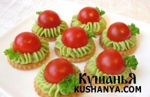Закусочки с авокадо фото