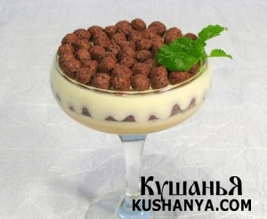 Десерт кофейно-сливочный фото