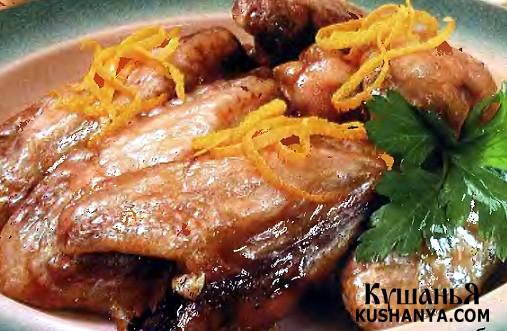 Фото Острые куриные крылышки с медом