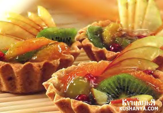 Фото Корзиночки с фруктами
