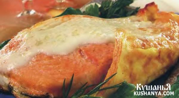 Фото Рыба, запеченная в сыре