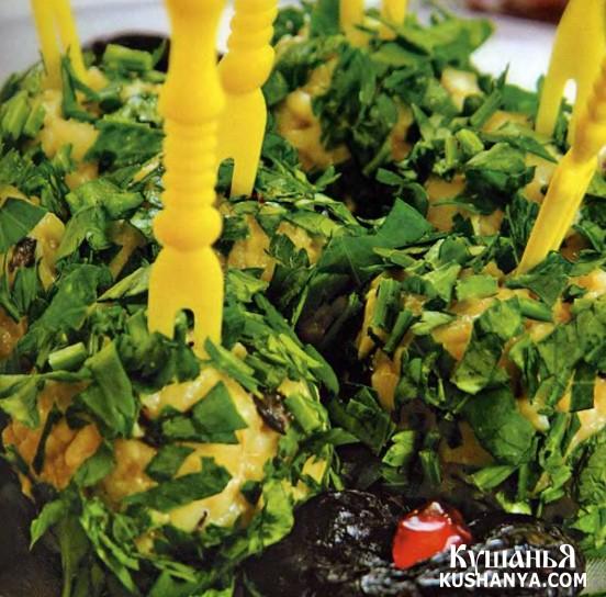 Фото Сырные шарики с маслинами