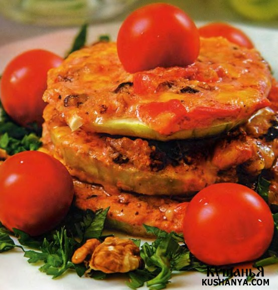 Фото Закуска из кабачков с сыром
