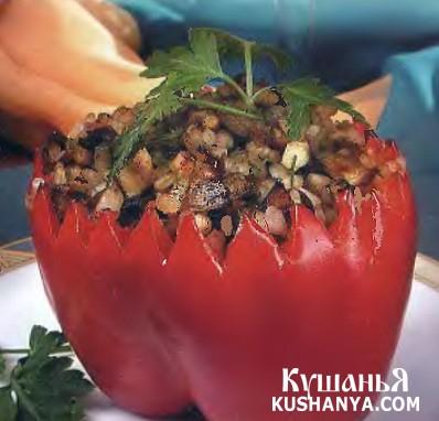 Фото Фаршированный перец рататуй