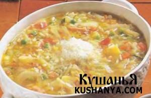 Овощной суп - Минестроне фото