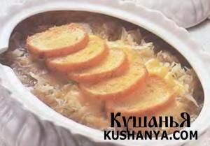 Суп капустный по-пьемонтски фото