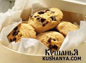 Печенье с шоколадными «чипсами» фото