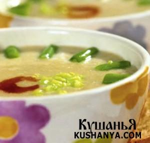 Суп-пюре из баклажанов фото