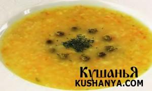 Суп овощной по-югославски (в микроволновке) фото
