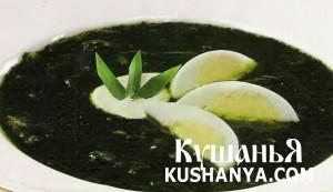 Суп из крапивы и щавеля (в микроволновке) фото