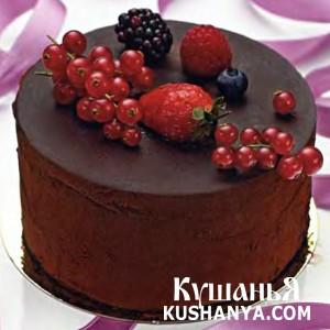 Захер-торт фото
