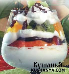 Десерт «Романтика» фото