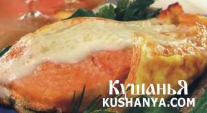 Рыба, запеченная в сыре фото