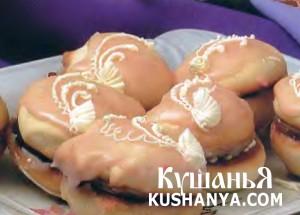 Пирожные с ликером фото