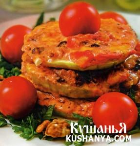 Рецепт Закуска из кабачков и баклажанов, cостав: кабачок, баклажан...