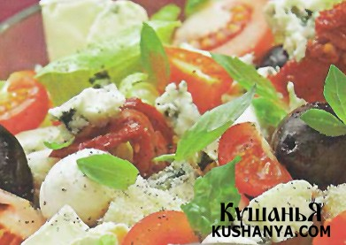 Фото Крестьянский салат с сыром