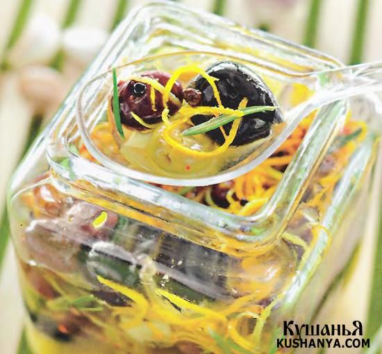 Фото Пряные маслины и оливки