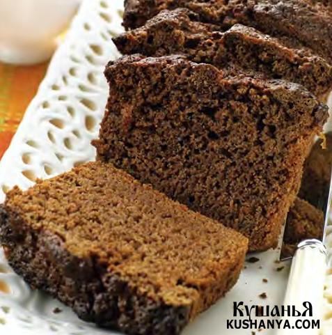 Фото Шоколадный хлеб