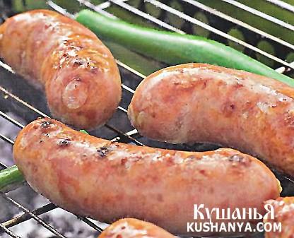 Фото Домашние острые колбаски