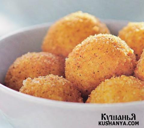 Фото Горячие сырные шарики