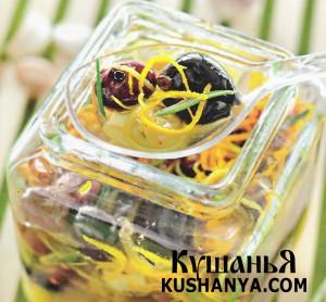 Пряные маслины и оливки фото