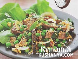 Салат из ягненка в азиатском стиле фото
