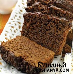 Шоколадный хлеб фото