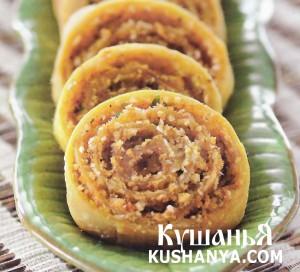 Картофельный рулет (индийский) фото