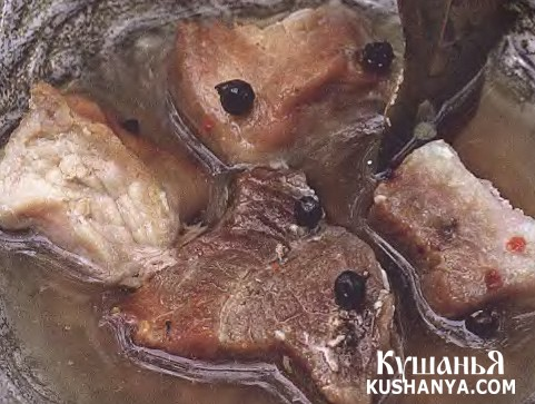 Фото Мясо «по-молдавски»