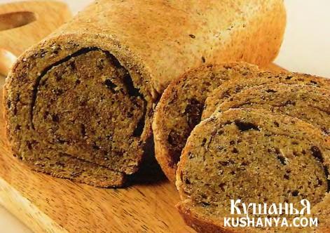 Фото Бездрожжевой хлеб (в микроволновке)