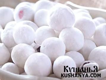 Фото Клюква в сахарной пудре
