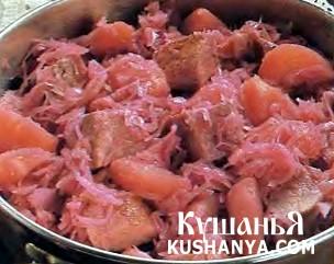 Фото Зимнее второе блюдо (традиционное)
