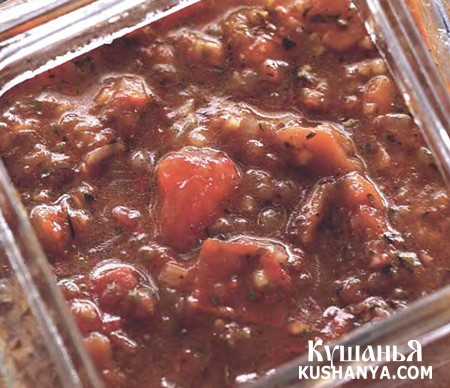 Фото Томатный соус со специями