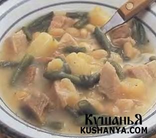 Фото Голландский фасолевый суп