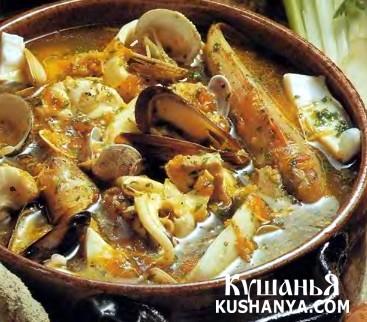 Фото Буйабес (марсельский суп из морепродуктов)