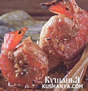 Маринованные креветки по-китайски фото