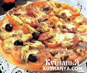 Пицца крестьянская фото