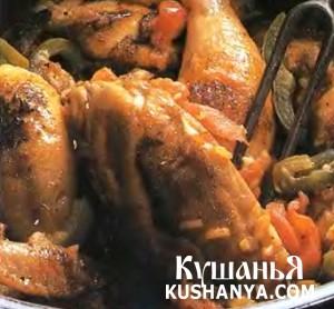 Курица по-баскски фото