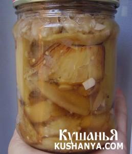Баклажаны со вкусом грибов фото