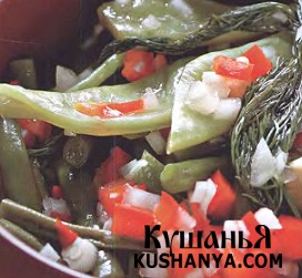 Зеленая фасоль в маринаде фото